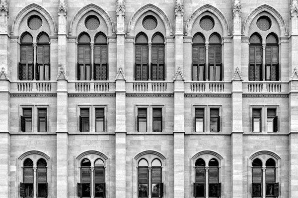 ארכיטקטורה היא כר פורה לתבניות שניתן לצלם. צלם: אלדד פז